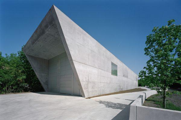 Das Bürogebäude in Waidhofen/Ybbs