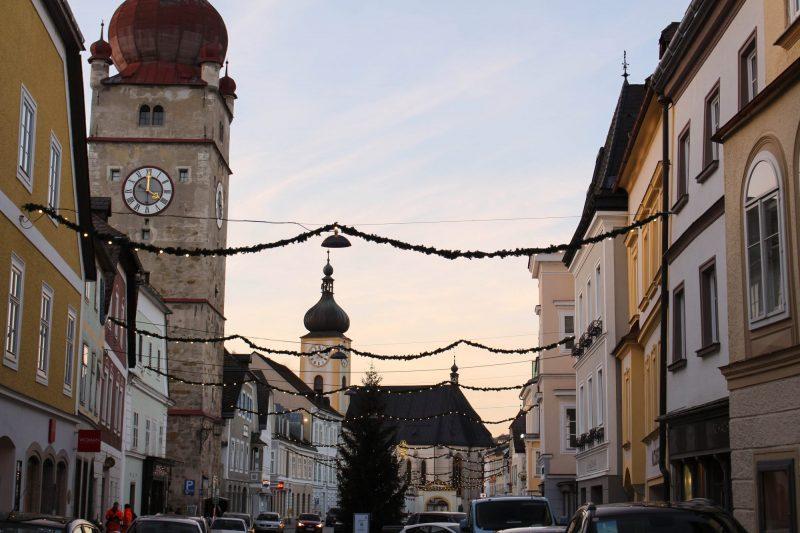 Weihnachtsbeleuchtung Waidhofen an der Ybbs