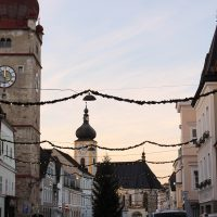 Weihnachtsbeleuchtung Waidhofen/Ybbs